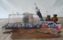 Restauratie atelier voor schilderijen